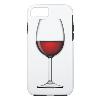 GLASS OF RED WINE iPhone 7 CASE