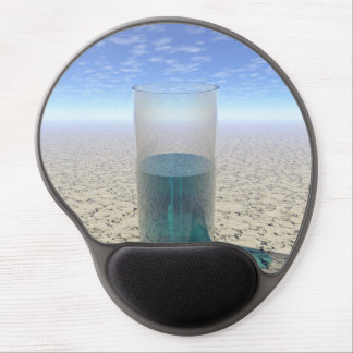 Glass of Water Gel Mouse Pad