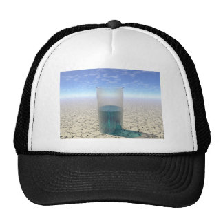 Glass of Water Trucker Hat