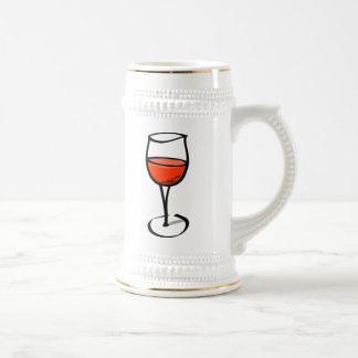 Glass of Wine 18 Oz Beer Stein