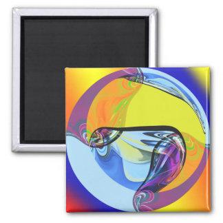 Glass orb magnet