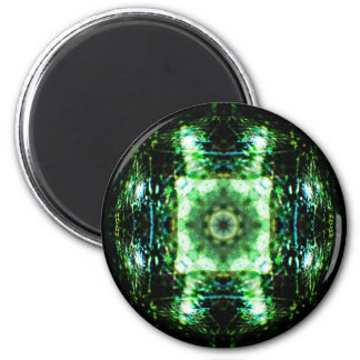 Glass Portal Mandala Magnet