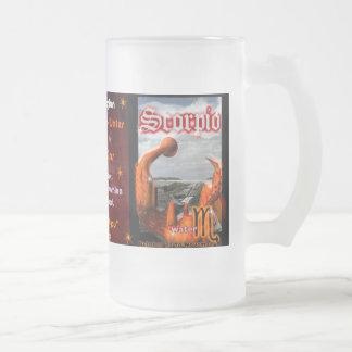 Glass Scorpio Beer Mug