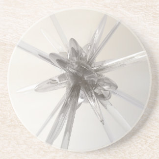 Glass Star Beverage Coasters