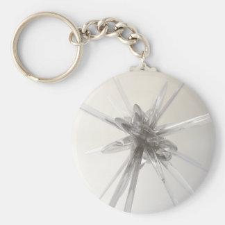 Glass Star Keychain