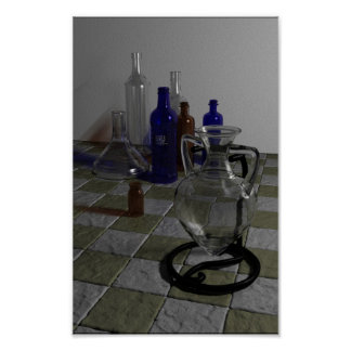 glass study poster