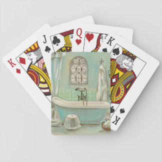 Glass Tile Bath Playing Cards