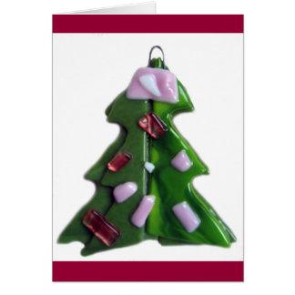 Glass Tree 2 Card