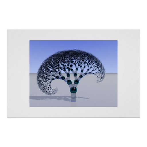 Glass Tree Poster