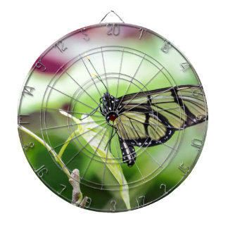 Glass Wing Butterfly Dartboard