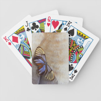 Glass-wing Butterfly Egyptian Goose Feather Bicycle Playing Cards