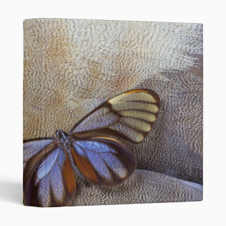 Glass-wing Butterfly Egyptian Goose Feather Binder