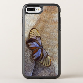 Glass-wing Butterfly Egyptian Goose Feather OtterBox Symmetry iPhone 8 Plus/7 Plus Case