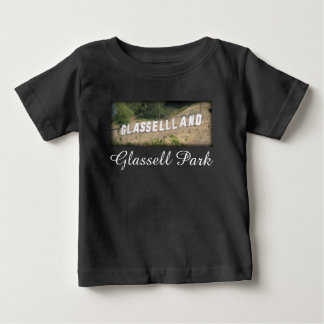 Glassellland Sign in Glassell Park, California Baby T-Shirt