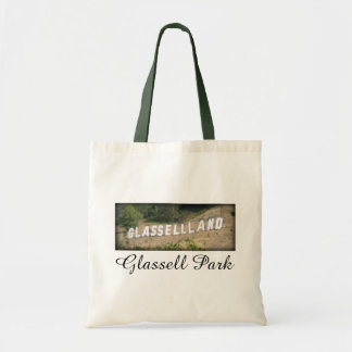 Glassellland Sign in Glassell Park, California Tote Bag