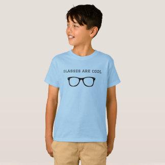 """Glasses are cool"" short sleeve tagless tshirt"