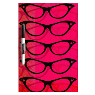 Glasses Dry Erase Board