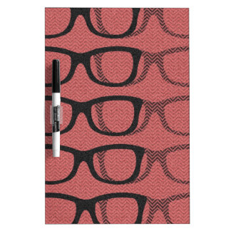 Glasses II Dry Erase Board