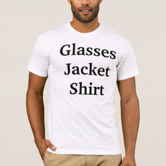 Glasses Jacket Shirt
