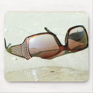 glasses. marine collection mouse pad
