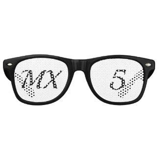 Glasses of festival MX5