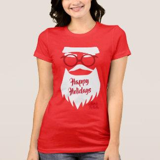 Glasses on Santa T-Shirt