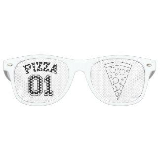 Glasses pizza