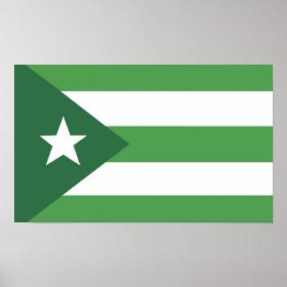 Glassjaw Nation Flag Poster