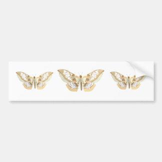 GlassWing Butterfly Bumper Sticker