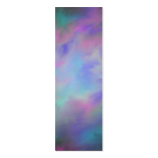 Glassy Galaxy Bookmarks Business Card