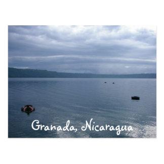 Glassy Laguna de Appoyo, Granada, Nicaragua Postcard