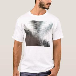 Glassy Metal Look T-Shirt