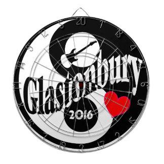 Glastonbury 2016 dart board