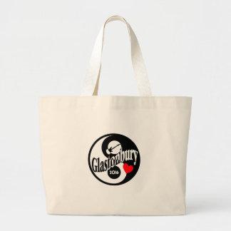 Glastonbury 2016 large tote bag
