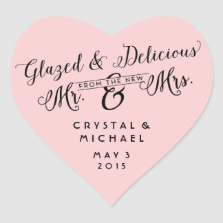 Glazed and Delicious Wedding Thank You Stickers