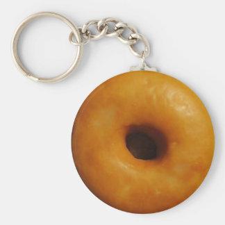 Glazed Donut Keychain