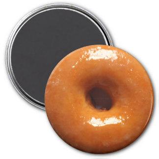 Glazed Donut Magnet Round