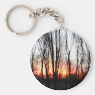 Glazed Sunrise Keychains