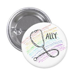 GLBT Ally Medicine pin