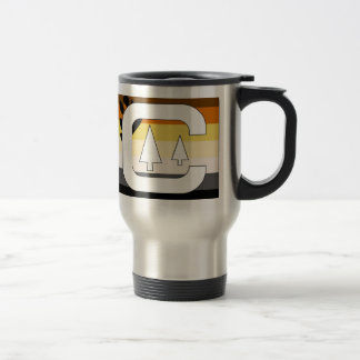 GLBT Bear Pride Camping Travel Mug