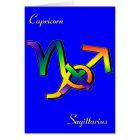 GLBT Capricorn & Sagittarius Card