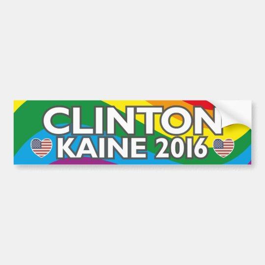 GLBT Hillary 2016 Bumper Sticker