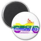 GLBT Motorcycle Pride Magnet