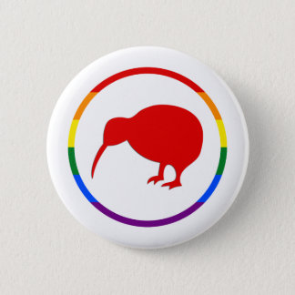 GLBTQ Pride-Kiwi & New Zealand 2 Inch Round Button