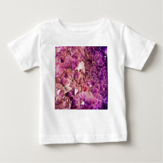 Gleaming Purple Geode Crystals Baby T-Shirt