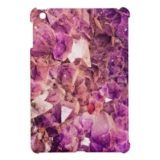 Gleaming Purple Geode Crystals Case For The iPad Mini