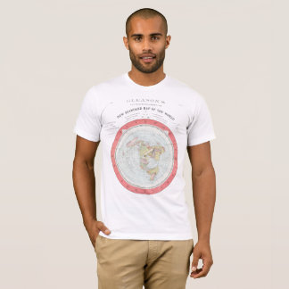 GLEASON's NEW WORLD MAP Tshirt ~High Rez Any Color