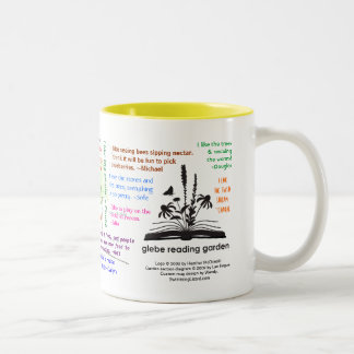 Glebe Reading Garden (not personalized) Two-Tone Coffee Mug