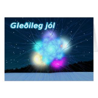 Gleðileg jól - Jack Frost Greeting Card