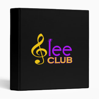 Glee Club Binder